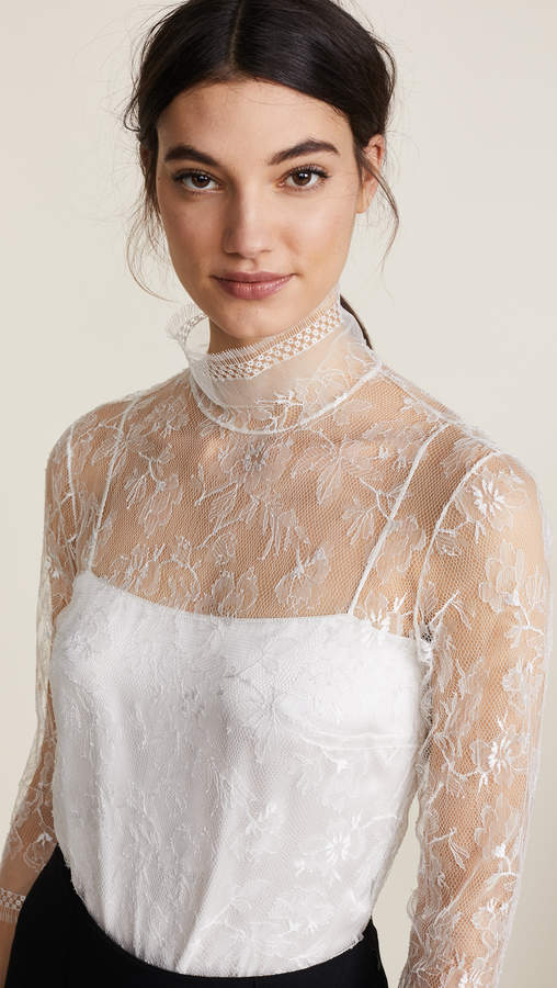 ADAM by Adam Lippes Lace Blouse