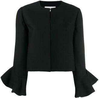 Valentino flared sleeve cropped jacket