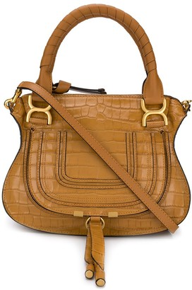 Chloé Snakeskin Effect Shoulder Bag