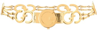Gucci Pre Owned 1970s GG chain-link belt