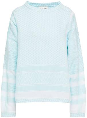 Cecilie Copenhagen O Cotton-jacquard Top