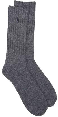 Polo Ralph Lauren Wool Ribbed Boot Socks