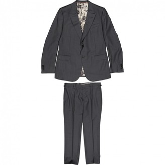 Gucci Grey Wool Suits