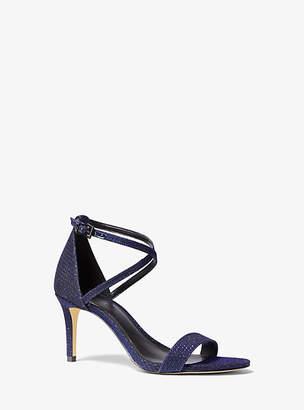 Michael Kors Ava Glitter Sandal