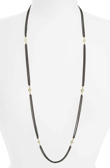 Armenta Old World Beaded Station Necklace