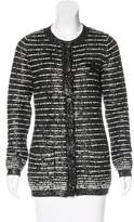 Chanel Embellished Wool Cardigan