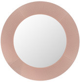 Kartell All Saints Round LED Mirror - Nude Pink