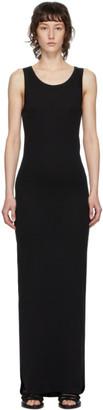 Ann Demeulemeester SSENSE Exclusive Black Rib Knit Cotton Dress