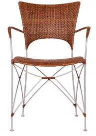 Bungalow Rose Zen Dining Chair Color: Brown