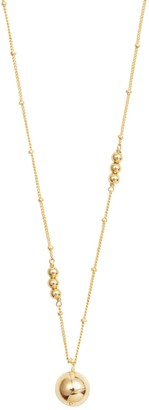 Wanderlust + Co Looking Glass Gold Necklace