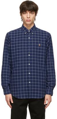Polo Ralph Lauren Navy Oxford Classic Shirt
