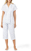 Eileen West Floral & Dotted Jersey Pajamas