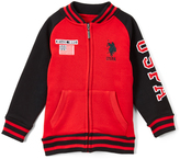 U.S. Polo Assn. Red Varsity Jacket - Toddler & Boys