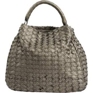 Miu Miu Metallic Leather Handbags