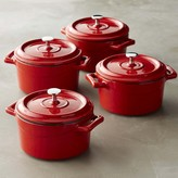 Williams-Sonoma Mini Cast-Iron Cocottes, Set of 4