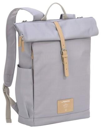 Lassig Green Label Rolltop Backpack Diaper Bag Grey