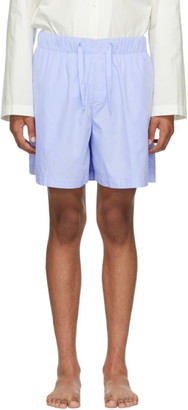 Tekla Blue Pyjama Shorts