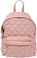 Moschino Small Quilted Nylon Backpack