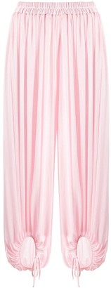 Styland Pleated Harem Trousers