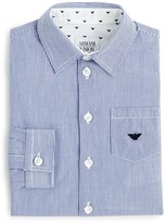 Armani Junior Boys' Stripe Button Down Shirt - Sizes 8-16