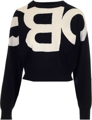 See by Chloe Logo Intarsia Sweater