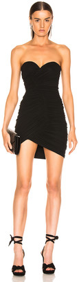 Alexandre Vauthier Strapless Mini Dress in Black | FWRD
