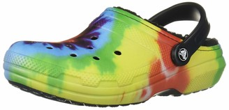 Crocs Classic Lined Tie Dye Clog
