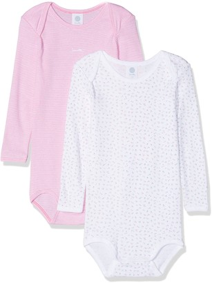 Sanetta Baby Girls' DP Body 322549+322550 Bodysuit