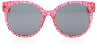 Gucci Round Sunglasses Glitter Optyl