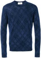 Pringle tartan print sweater