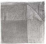 Faliero Sarti shimmer scarf - men - Silk/Polyester/Cupro/Modal - One Size