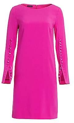 Escada Women's Dehva Button-Trimmed Shift Dress