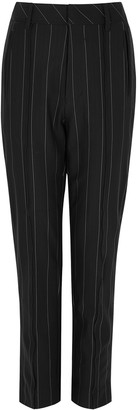 High Stark pinstriped stretch-jersey trousers