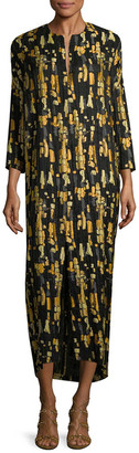 Zero Maria Cornejo Print Shift Dress