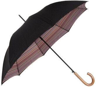 Paul Smith Striped Crook Umbrella