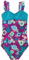Roxy Girls' Sweet Floral One Piece Swimsuit (2T6X) - 8135487