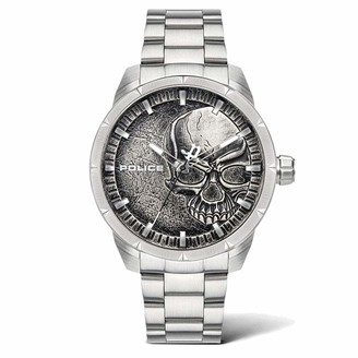 Police Men's Quartz Watch with Stainless Steel Strap