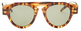 Smoke X Mirrors x FIORUCCI Caramel Tortoise Round Sunglasses