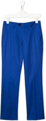 Isaia Kids classic chino trousers