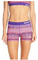 Nike Women's Pro Cool 3-Inch Compression Shorts (/)