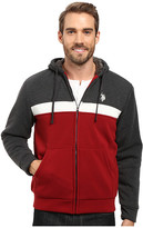 U.S. Polo Assn. Color Block Fleece Hoodie