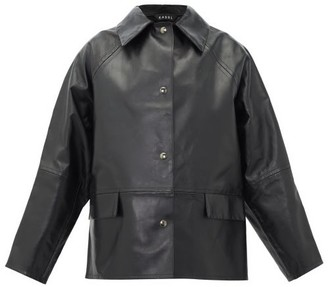 Kassl Editions - Reversible Leather Jacket - Womens - Black Green