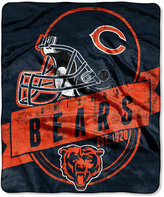 Northwest Company Chicago Bears Micro Raschel 12th Man Throw Blanket