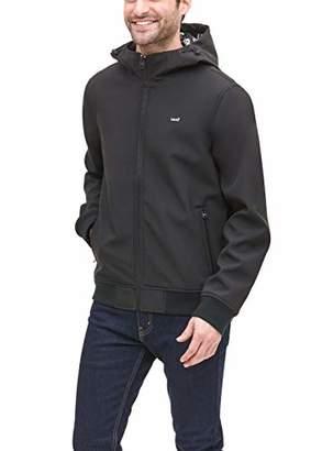 Levi's Men's Soft Shell Active Hoody Bomber Jacket