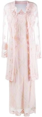 A.N.G.E.L.O. Vintage Cult 1990s Dress-Cardigan Set