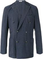 Boglioli double-breasted blazer - men - Silk/Spandex/Elastane/Cupro/Virgin Wool - 50