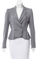 Band Of Outsiders Asymmetrical Notch-Lapel Jacket