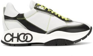 Jimmy Choo Raine embossed logo chunky sneakers