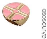 Asos Block Cocktail Ring - Pink