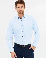 TAROCASH Charlie Textured Shirt